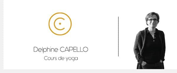 Delphine Capello – Cours de yoga
